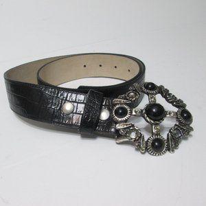 Vintage Cache Black Belt Size M
